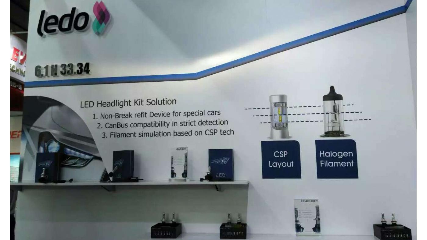Led Headlight Kit Solution On The 120th Canton Fair