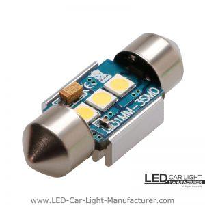 Festoon 31mm Led Bulb | 200% Brightness | 2 Year Warranty