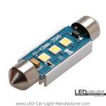 42mm Led C5W Festoon Bulb 12V/24V Error Free