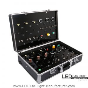 Led Testing Suitcase | Various Bases Available on Board