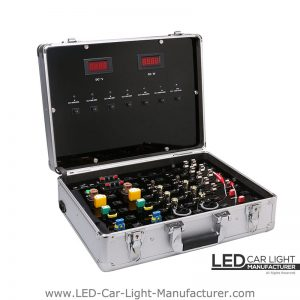 Led Display Suitcase | Various Bases Available on Board