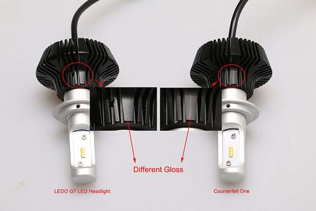 Philips G7 led headlight