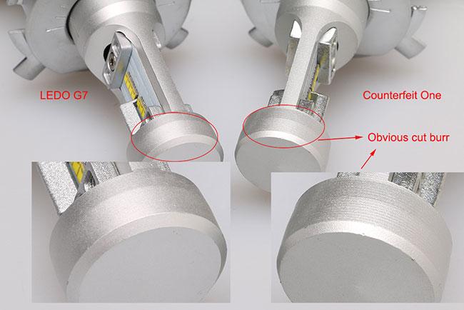 Philips G7 led headlight