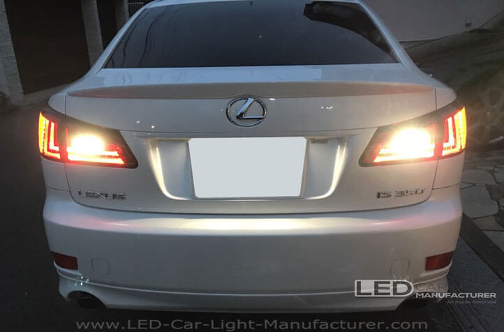 The Guide to Upgrade Lexus IS350 Reverse Light