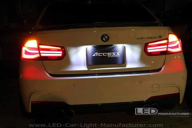 BMW 3-Series LED License Light Upgrade Guide