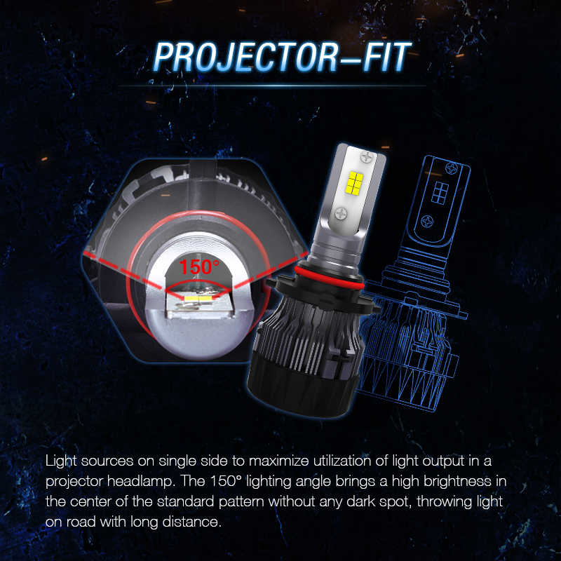 H8 Led Bulb Conversion Kit