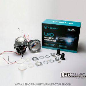 XBright X5 Bi-Led Projector Headlight Lens